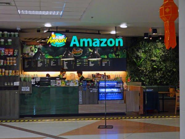 ※タイでよく見るチェーン店 が空港内にもあった「Cafe Amazon」