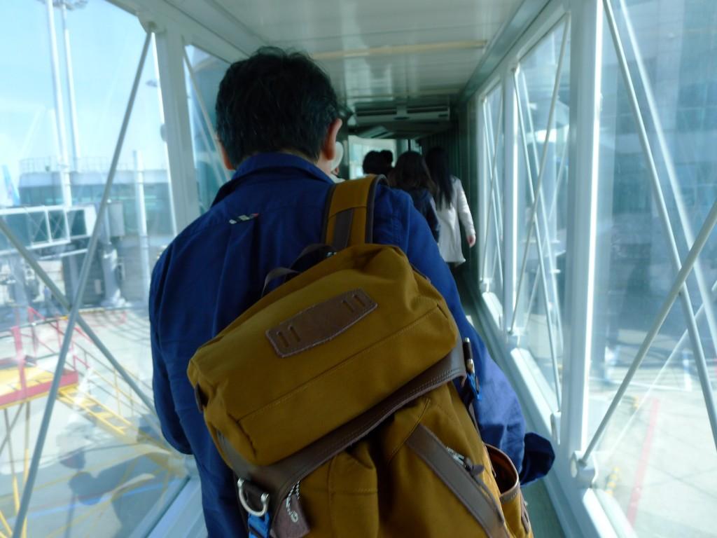 仁川空港に到着!