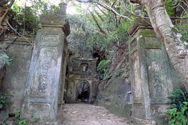 ※Huyen Khong Cave入口