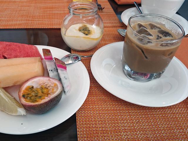 ※甘いベトナムコーヒー(香ばしくチョコレートドリンクのような味)