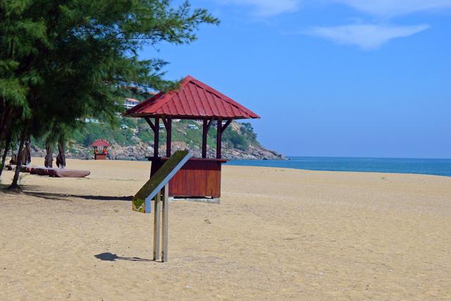 ※Angsana Beach 施設の利用者がほとんどだからプライベートビーチのよう・・・