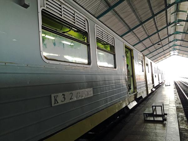 ※復路の汽車は、往路に比べて、車両が古いように感じる。同じ料金とは思えない。