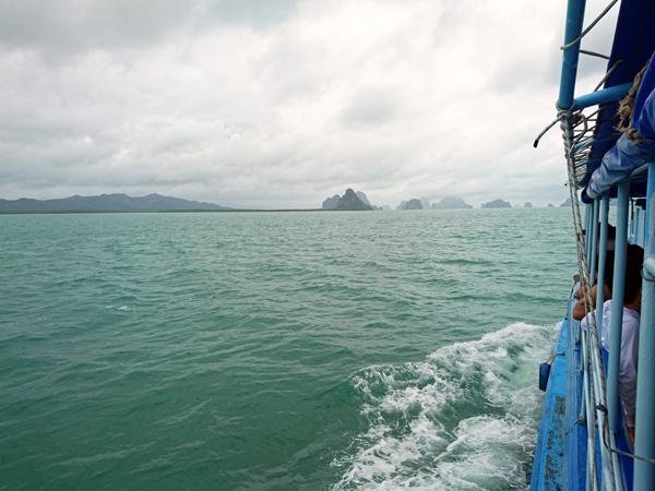 ※パナック島かホン島、それともピンガン島?へ向かうかは、天候しだい!