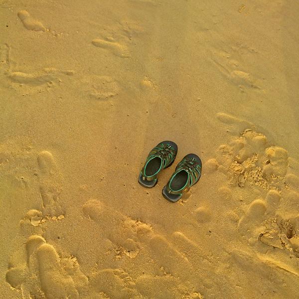 ※今日で、Andaman Whiteのビーチで過ごす最後である。明日昼前には空港へ