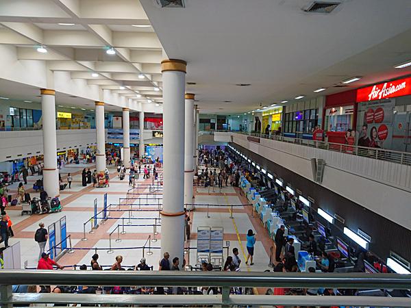 ※こちらの国内線・国際線共用のターミナルは、9月16日より国内線専用になる