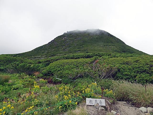 桂月岳へ向かいます。