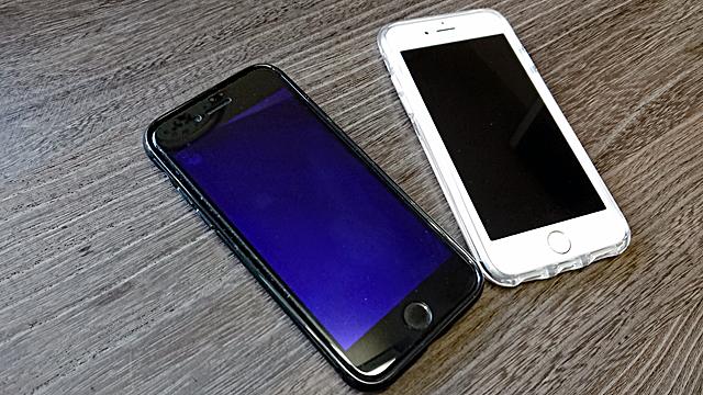 相方のiPhone7 softBankと私の格安SIMで運用中のiPhone6s SIMフリー