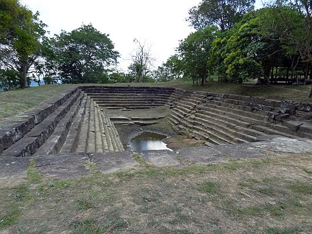 山岳地帯の寺院には、水の確保は重要なのだろう。