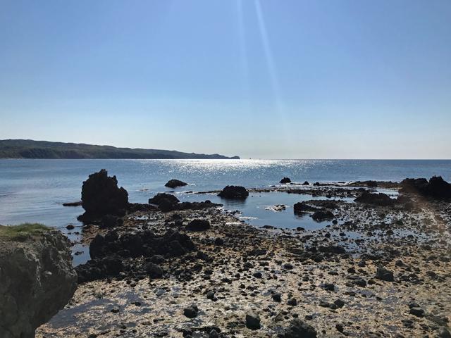 いよいよ積丹町の入口とも言える「厚苫」から先端の神威岬へ