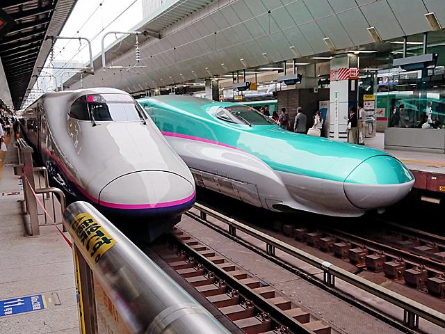 今回の旅行の起点を高崎駅に選び、東京駅から新幹線。