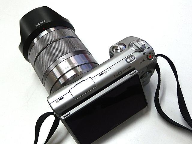 NEX-5の18-55mmズーム、レンズの明るさが気になる。XZ-10で撮影