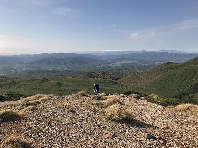 高度感というのも登山の楽しみな要素。