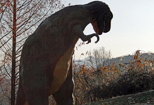 ジェラシックパークというか恐竜でも人気のティラノサウルス