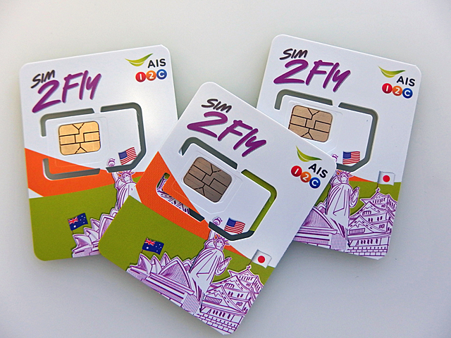 東南アジアのモバイル通信なら普段「SIM2Fly」と決めている。