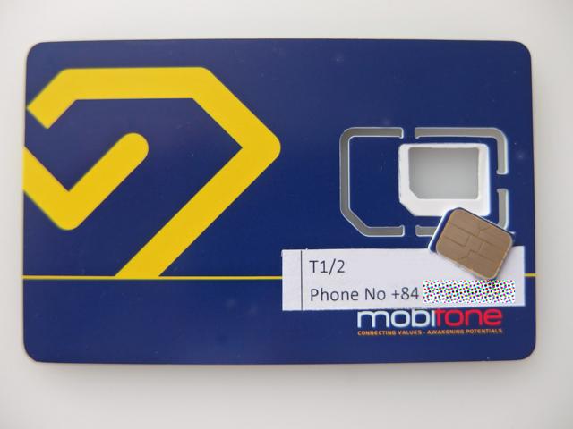 mobifone 30日間 通話付きデータ通信6GB