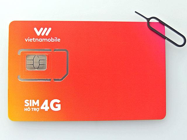 日本で言うベトナムの格安SIMメーカのVietnamobile。60GBという容量は破格