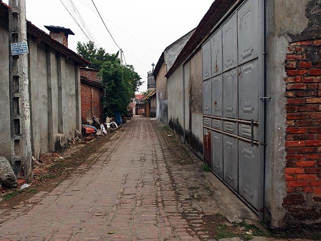 ドゥンラム村の路地