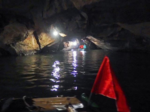 洞窟の中です。