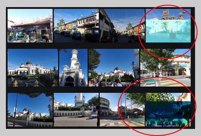 マレーシアの一コマ。同じ写真はもう撮れないのです。