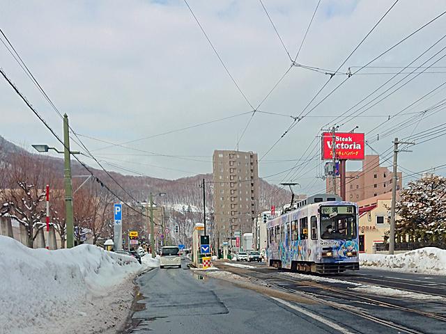 雪ミク電車2020