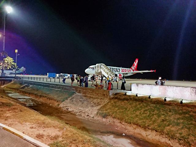 タイのドンムアン空港からカンボジアのシェムリアップ空港