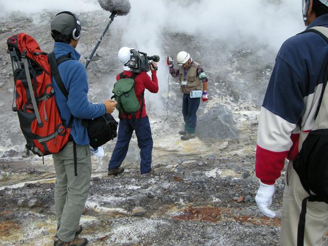 2008年10月4日11:53AM、有珠山-エクスカーションより