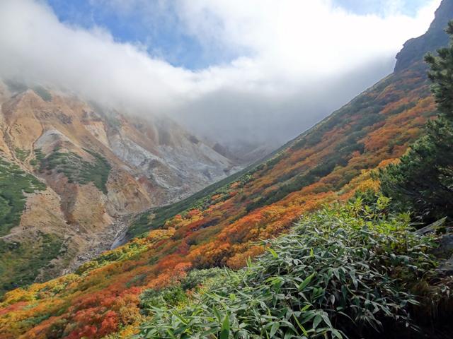 富良野岳ー上ホロカメットク山へ縦走