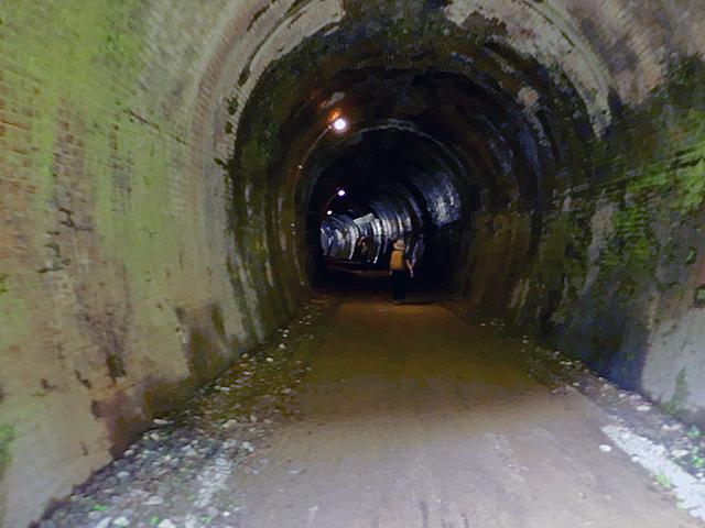 第十号トンネルをぬけると、そこは熊ノ平の駅が見えて来た。
