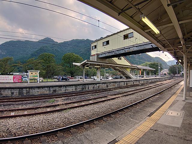 横川駅は、明治の頃から主要駅ででした。